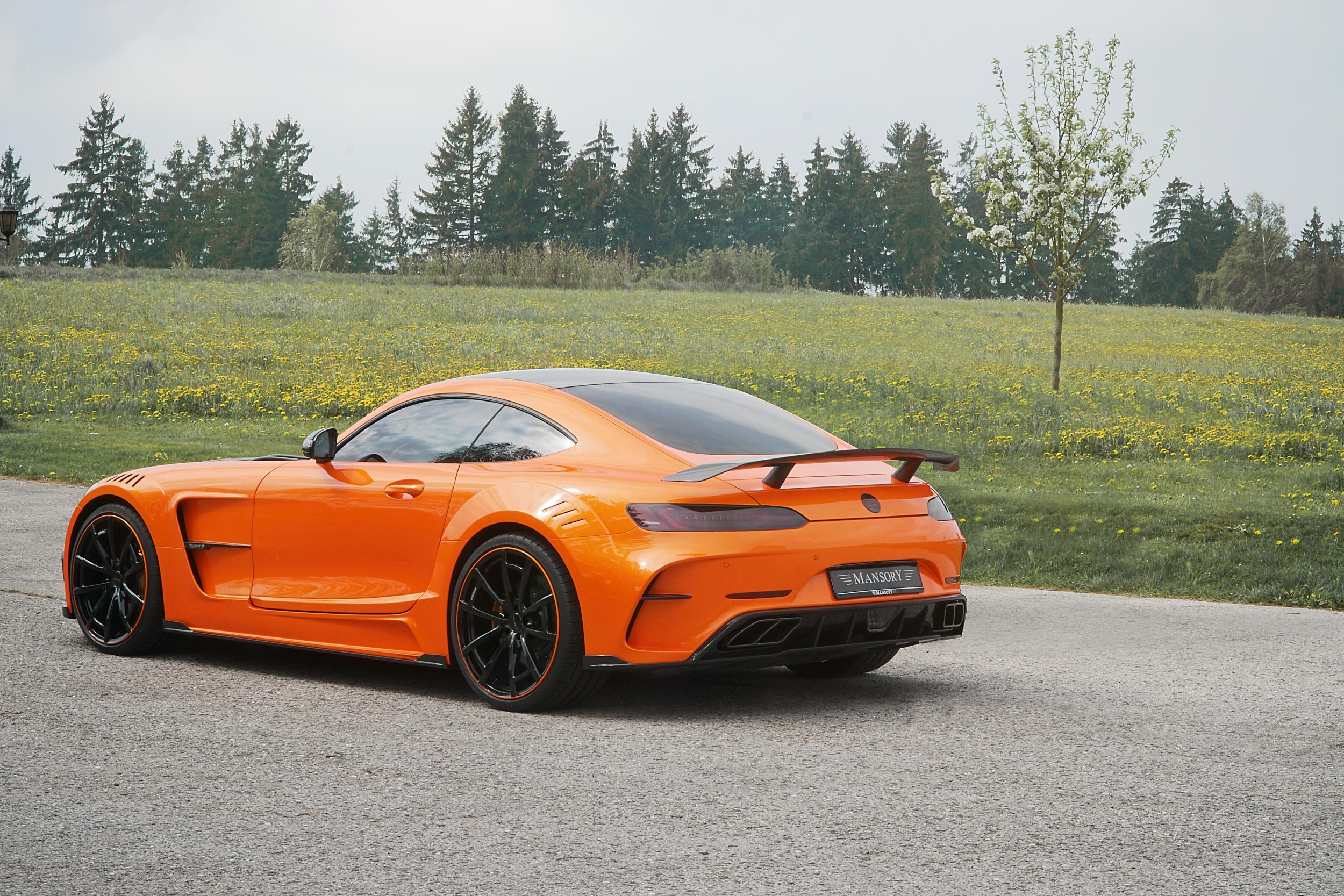 Mansory mercedes amg gt returns in many colors autoevolution for Mercedes benz orange