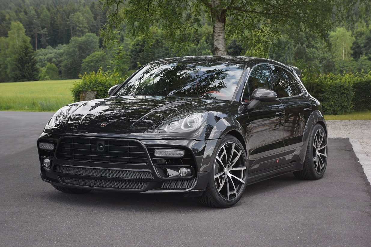 mansory porsche macan fully revealed autoevolution. Black Bedroom Furniture Sets. Home Design Ideas