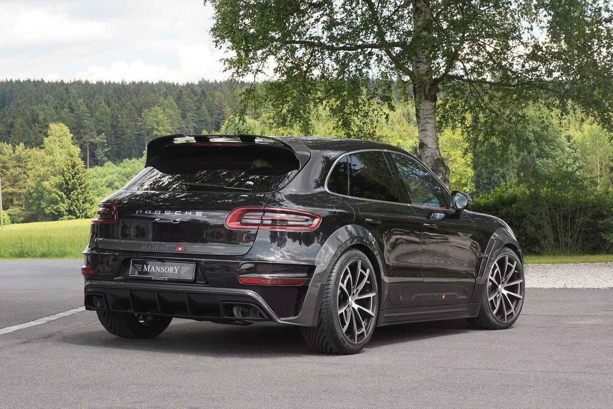 Mansory Porsche Macan Fully Revealed Autoevolution