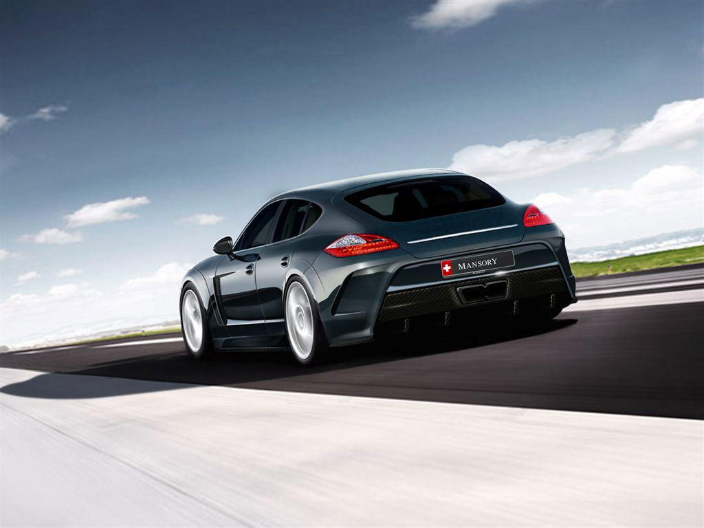mansory porsche panamera package preview autoevolution. Black Bedroom Furniture Sets. Home Design Ideas