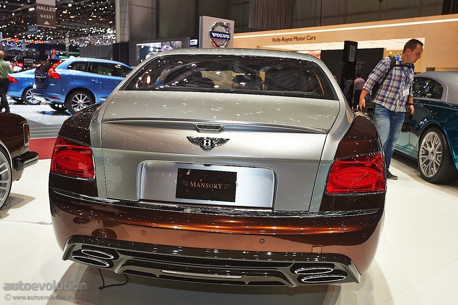 Mansory Presents Tuning Kit For Bentley Flying Spur In Geneva Live Photos Autoevolution