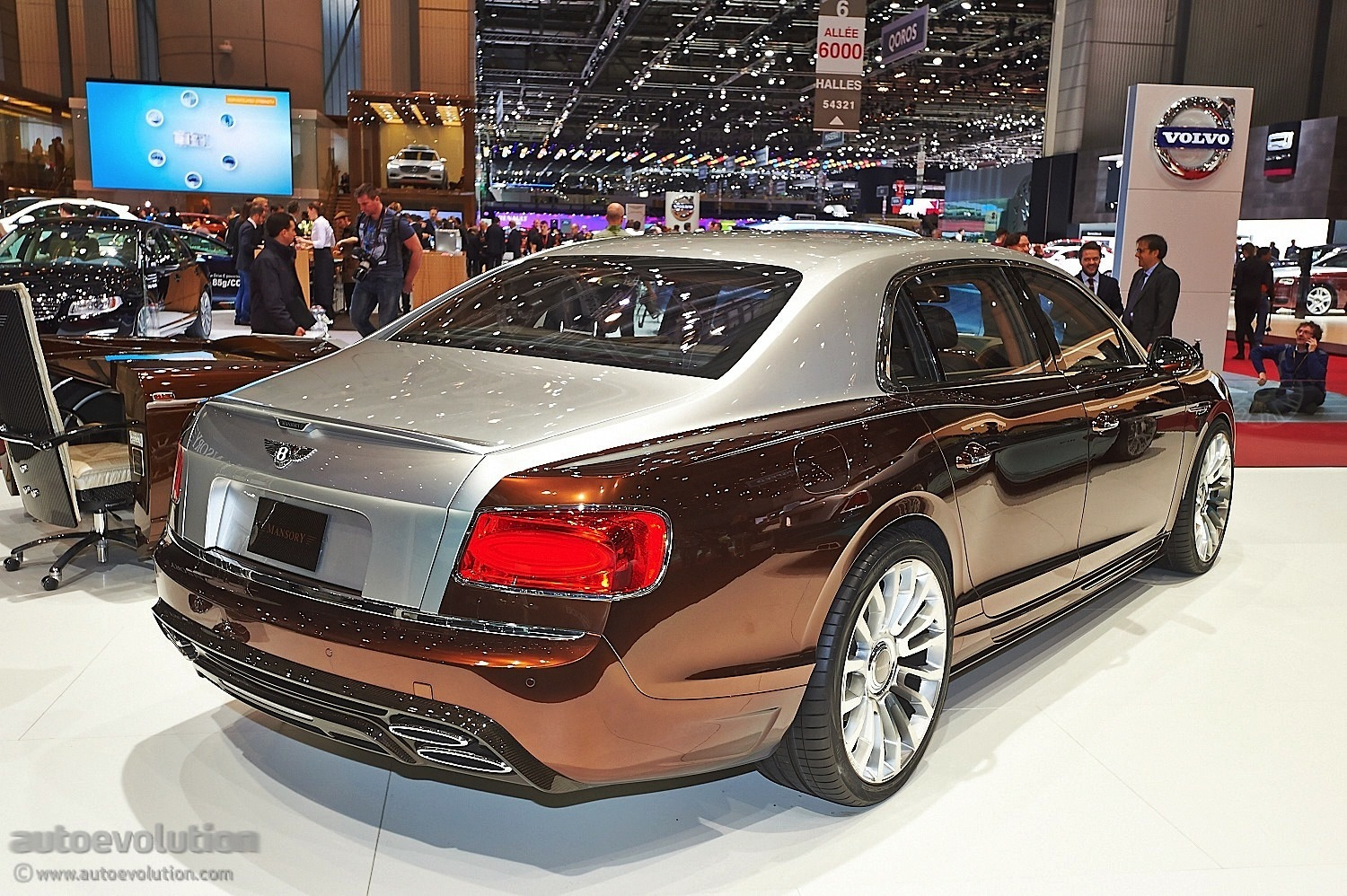 Mansory Presents Tuning Kit For Bentley Flying Spur in ...