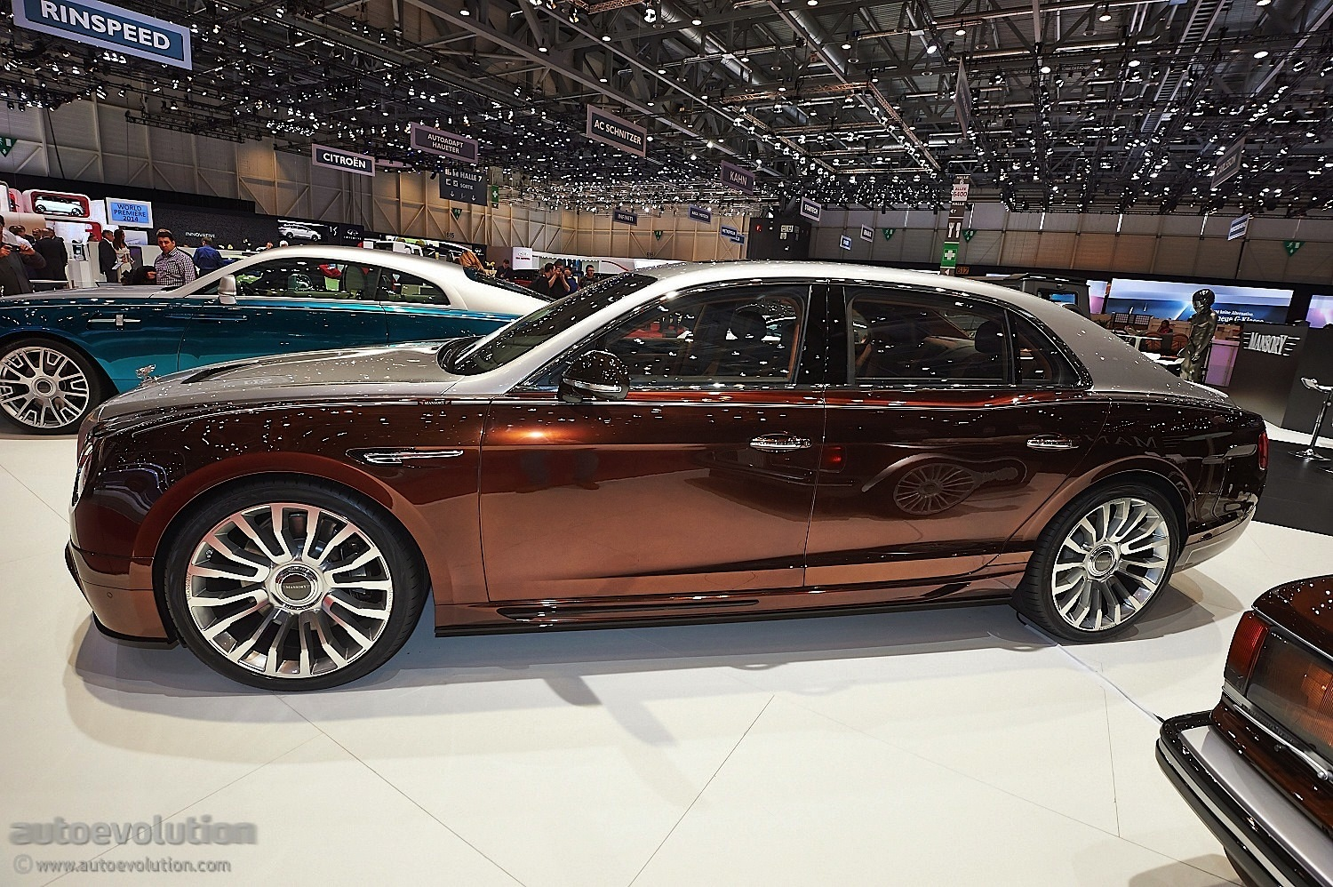 Bentley Flying Spur Modified >> Mansory Presents Tuning Kit For Bentley Flying Spur in Geneva [Live Photos] - autoevolution