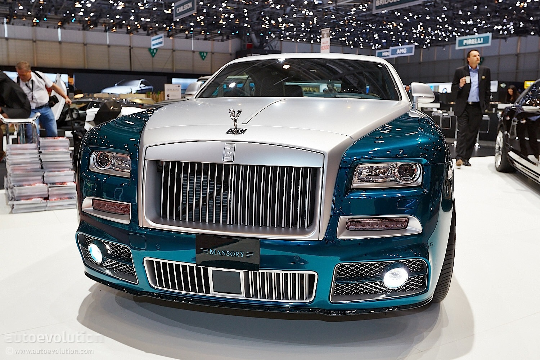 Mansory Rolls Royce Wraith Opulence Geneva Has It Live
