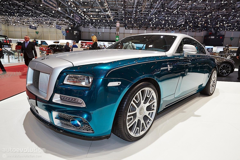 Mansory Rolls Royce Wraith Opulence Geneva Has It Live Photos Autoevolution