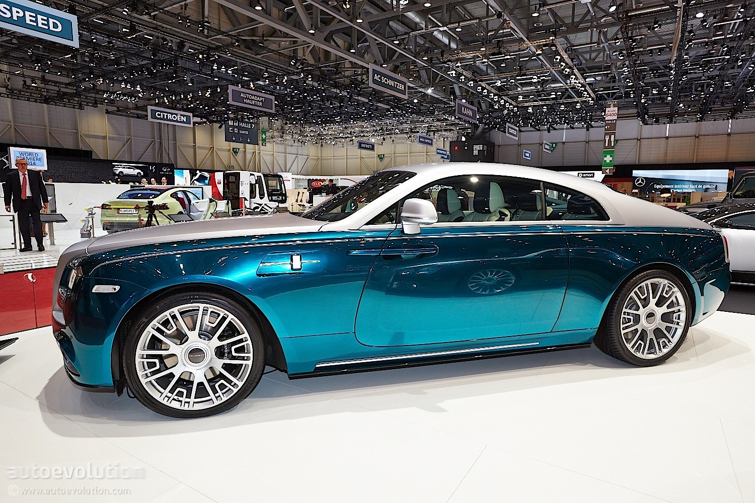Mansory Rolls Royce Wraith: Opulence, Geneva Has It Live Photos