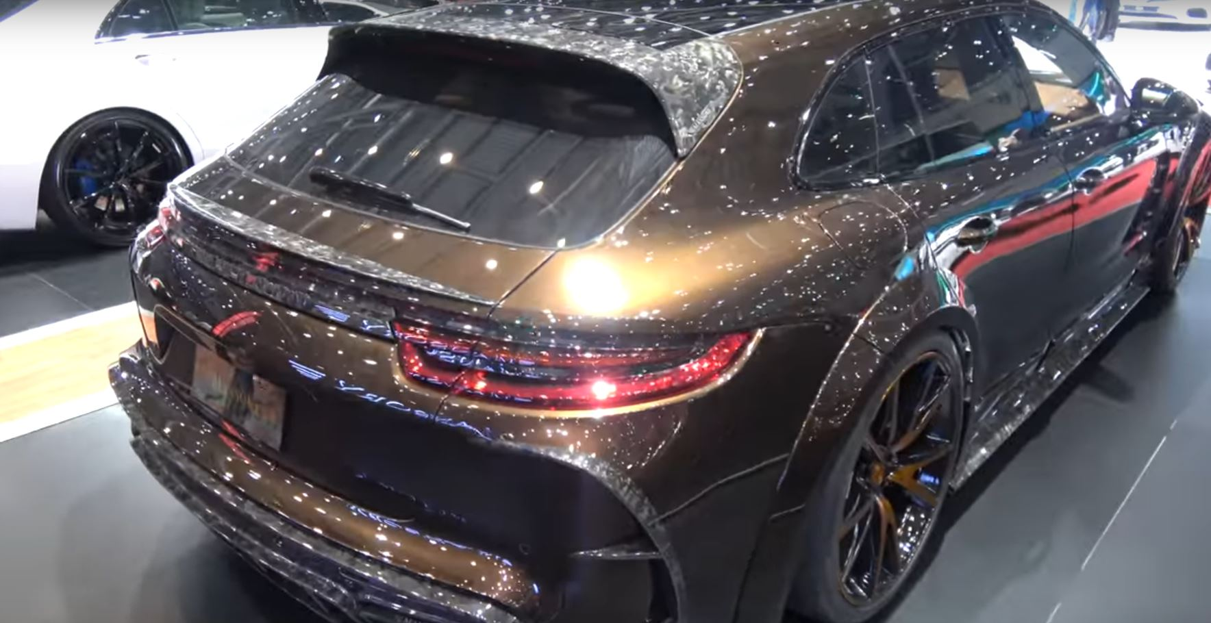 Mansory Tuned Porsche Panamera Wagon Gt3 Rs Styling In