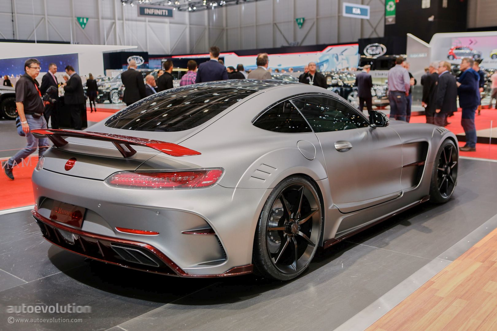 Mansory's Mercedes-AMG Geneva Booth Sees GLE63 Coupe ...