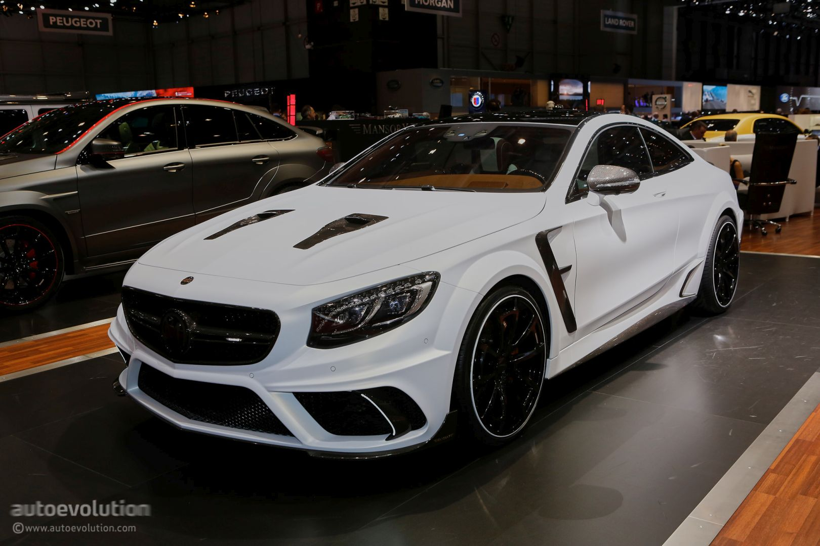 Mercedes Benz Suv Models >> Mansory's Mercedes-AMG Geneva Booth Sees GLE63 Coupe Outgunning Their 730 HP GT - autoevolution