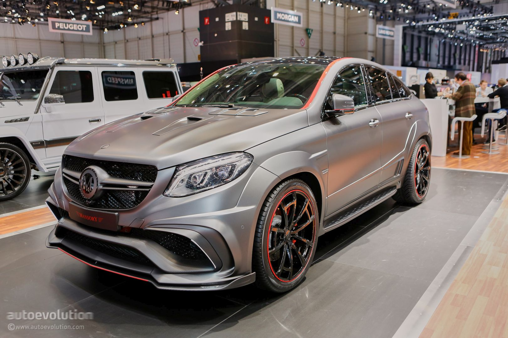 Mansory S Mercedes Amg Geneva Booth Sees Gle63 Coupe