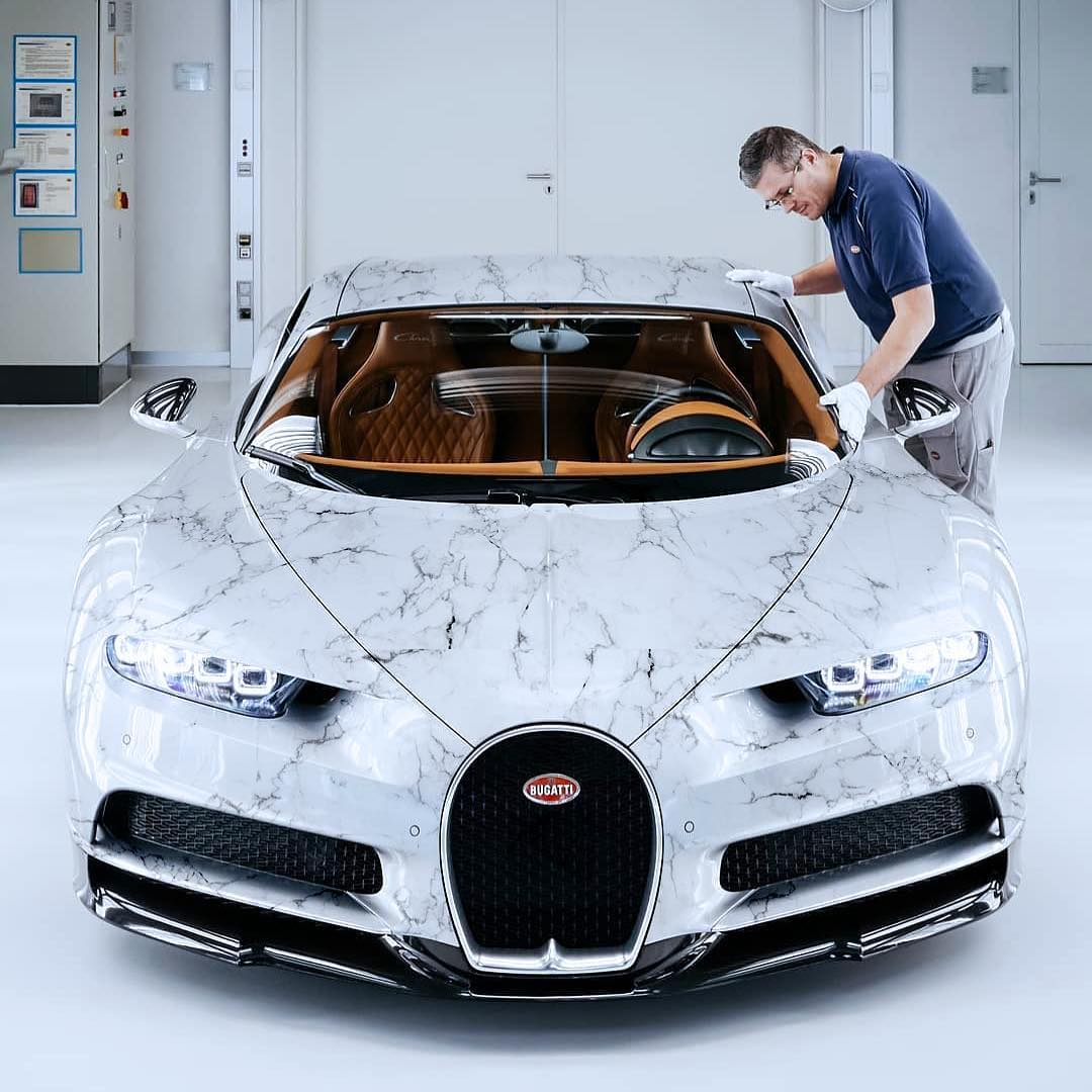 Marble Wrapping Is A Thing Lamborghini Urus Chiron And