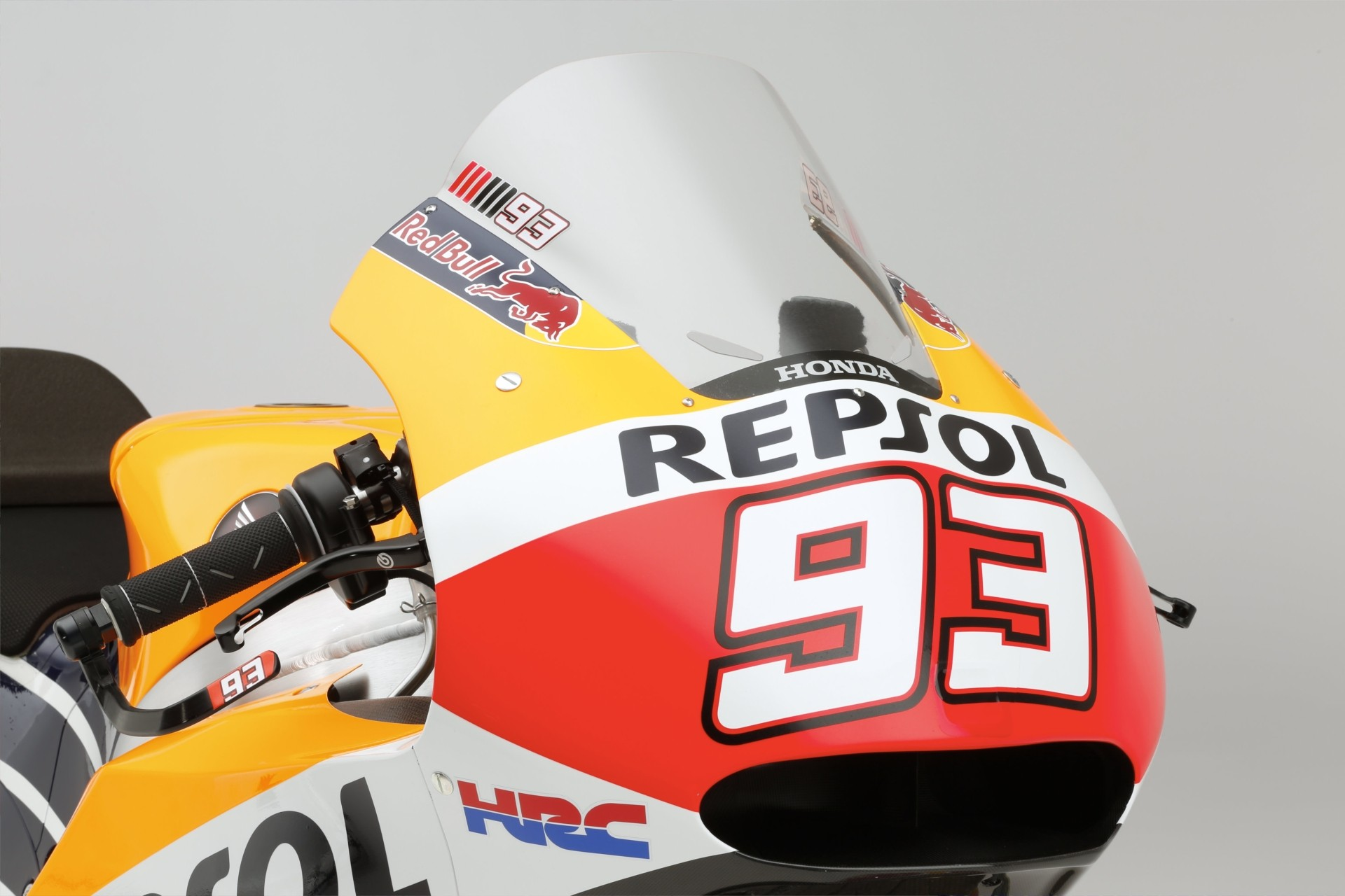 marc marquez and dani pedrosa s 2015 honda rc213v motogp bike high res picture bonanza photo gallery 19