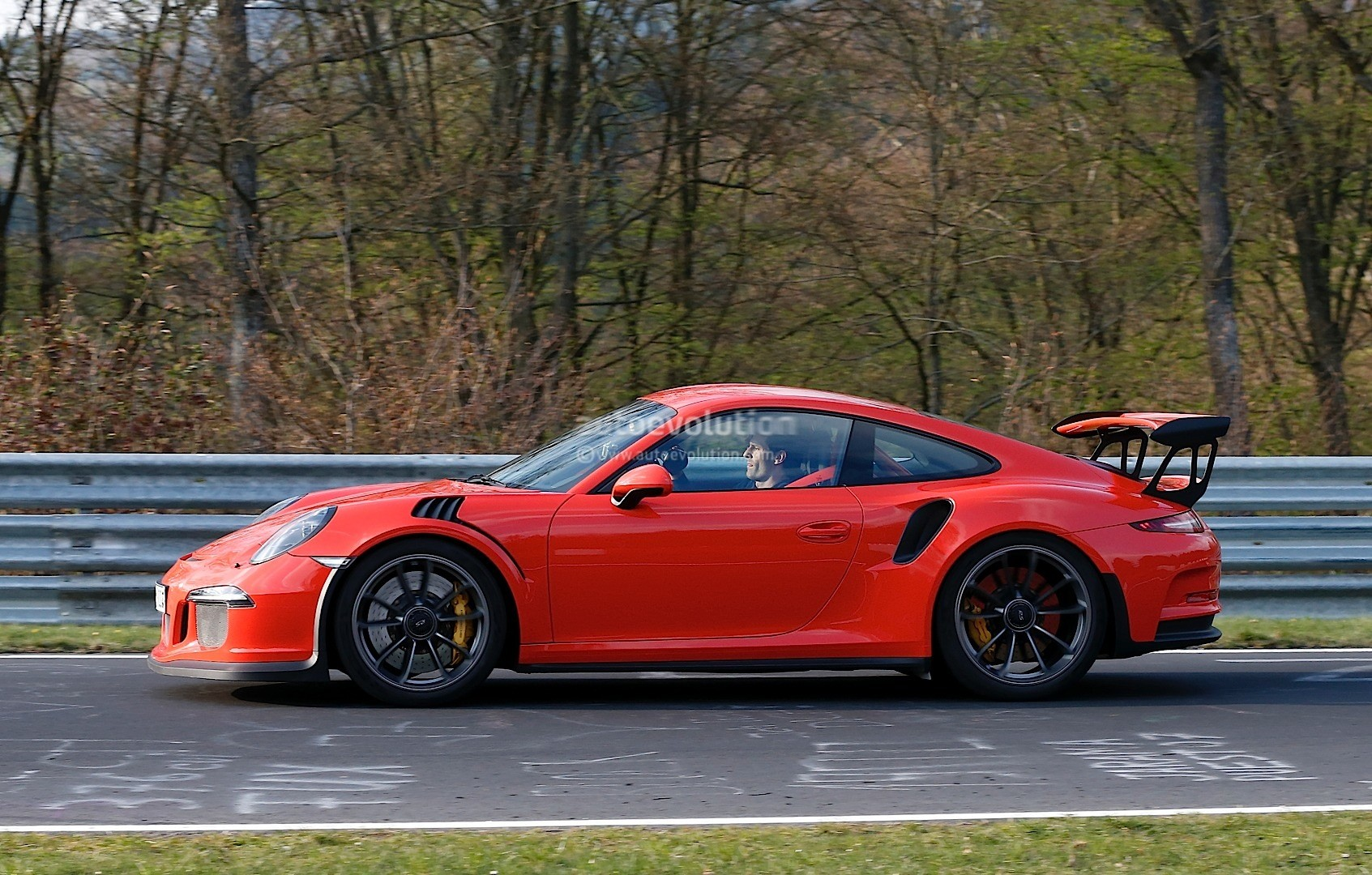 Mark webber drives the 2016 porsche 911 gt3 rs on the nurburgring no lap time for now