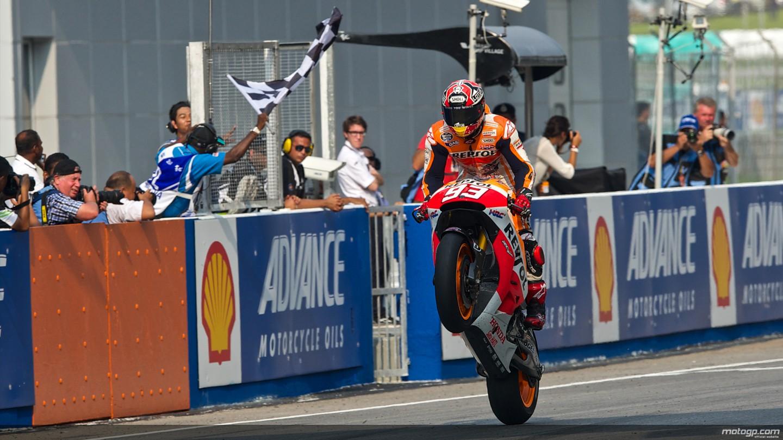 Marquez Wins the Sepang Crashfest, Equals Doohan's 12 ...