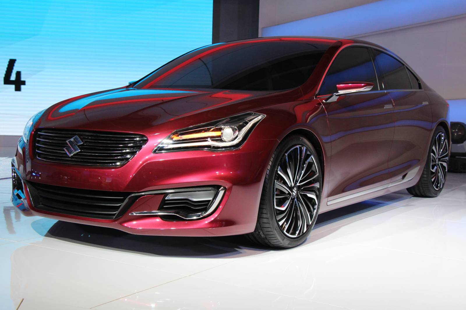 Maruti Suzuki Reveals New Ciaz Concept Sedan in India ...