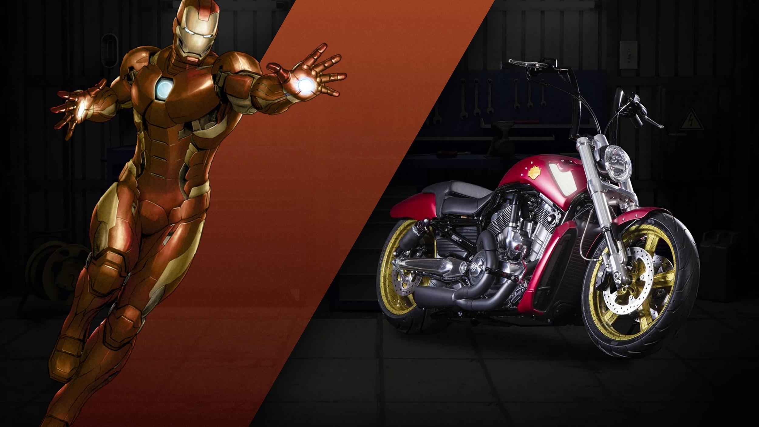 Marvel Superhero Harley Davidson Bikes Surface In The Land