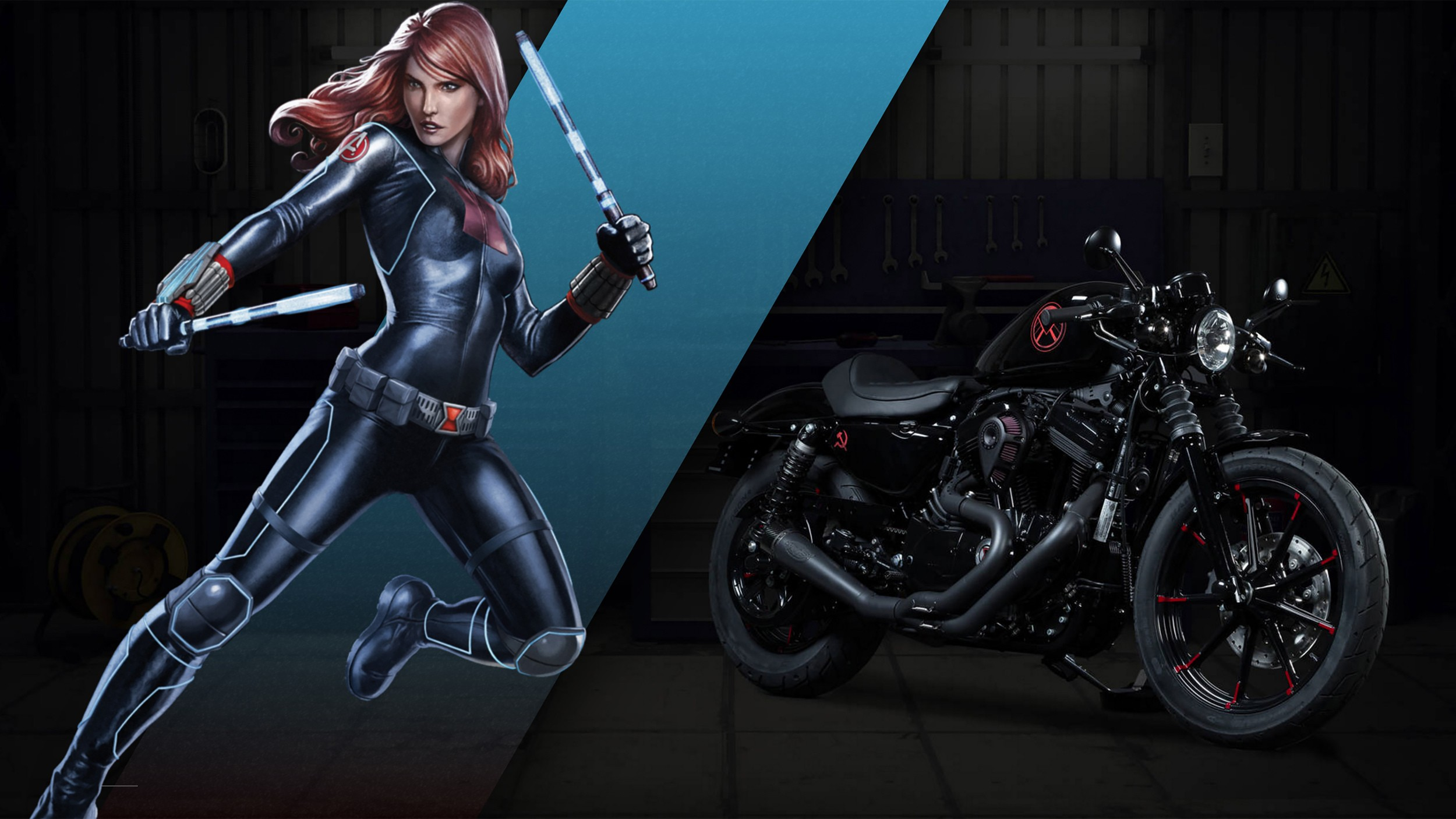 Marvel Superhero Harley Davidson Bikes Surface In The Land