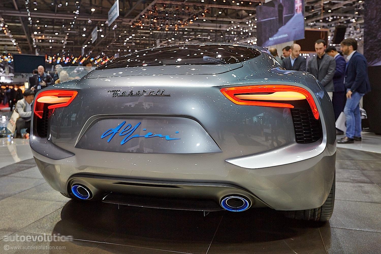 Maserati Alfieri 2+2 Concept, Geneva's Sexy Side [Live Photos ...