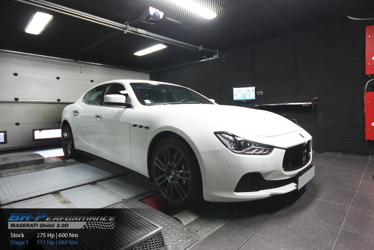 Maserati Ghibli Diesel Chip-Tuned to 311 HP - autoevolution