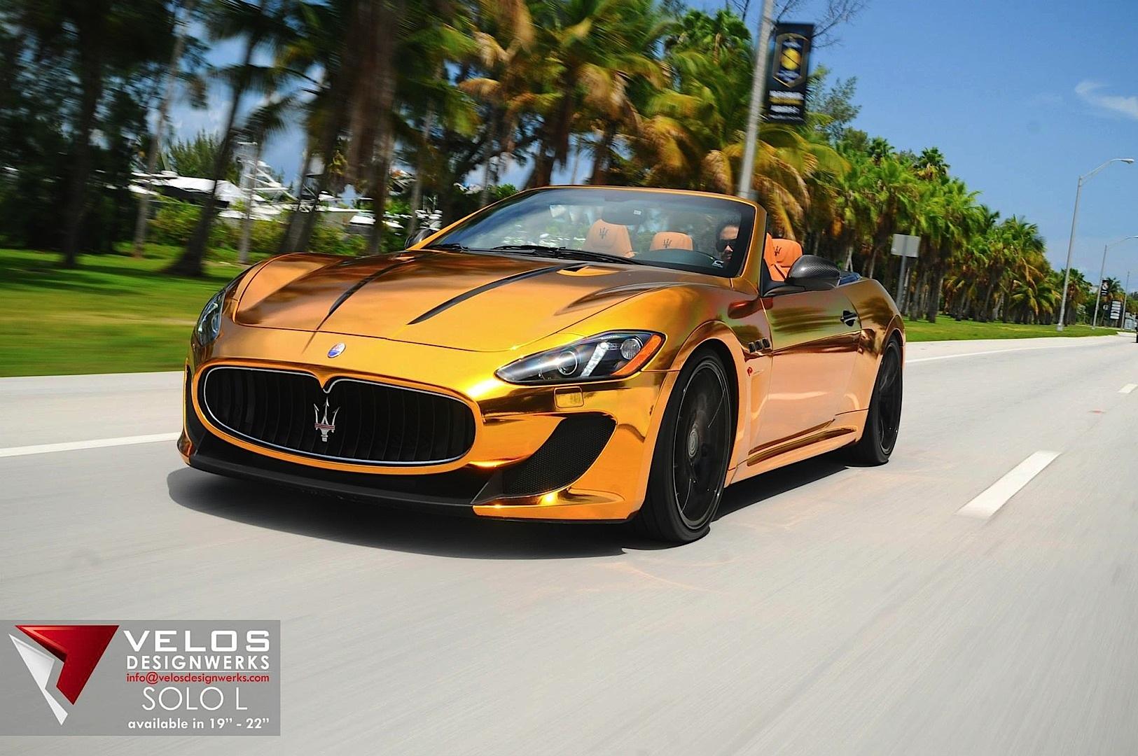 Maserati Grancabrio Gold From Velos Designwerks