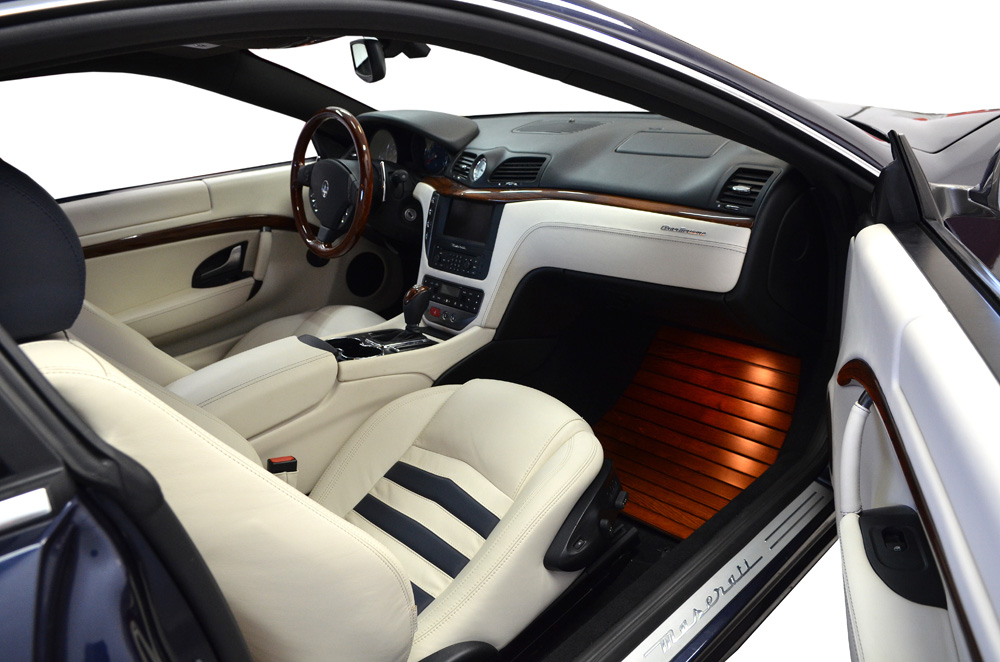 Maserati granturismo gets yacht themed interior for Maserati granturismo s interieur
