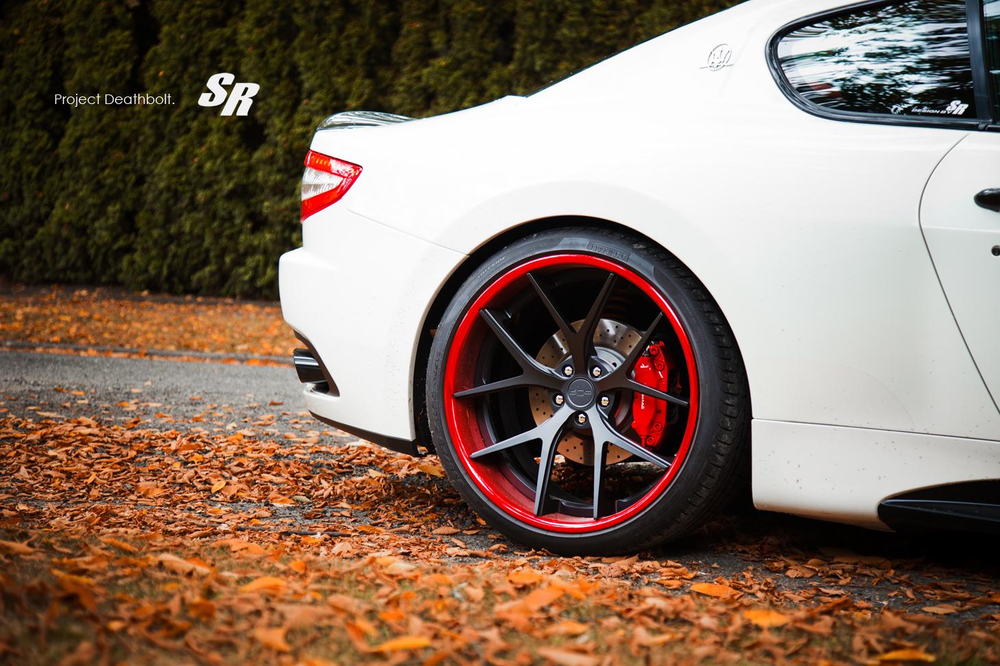 Maserati Granturismo On Pur Wheels Autoevolution