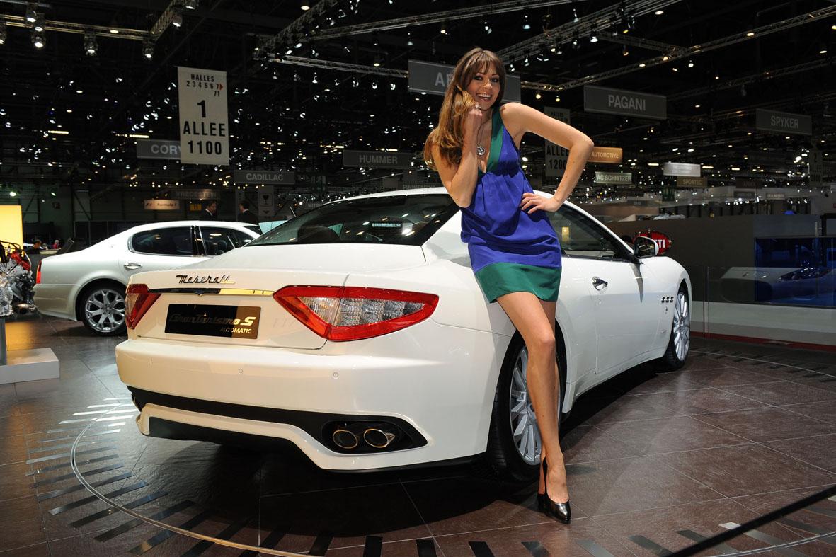 Maserati Granturismo S Automatic World Debut In Geneva