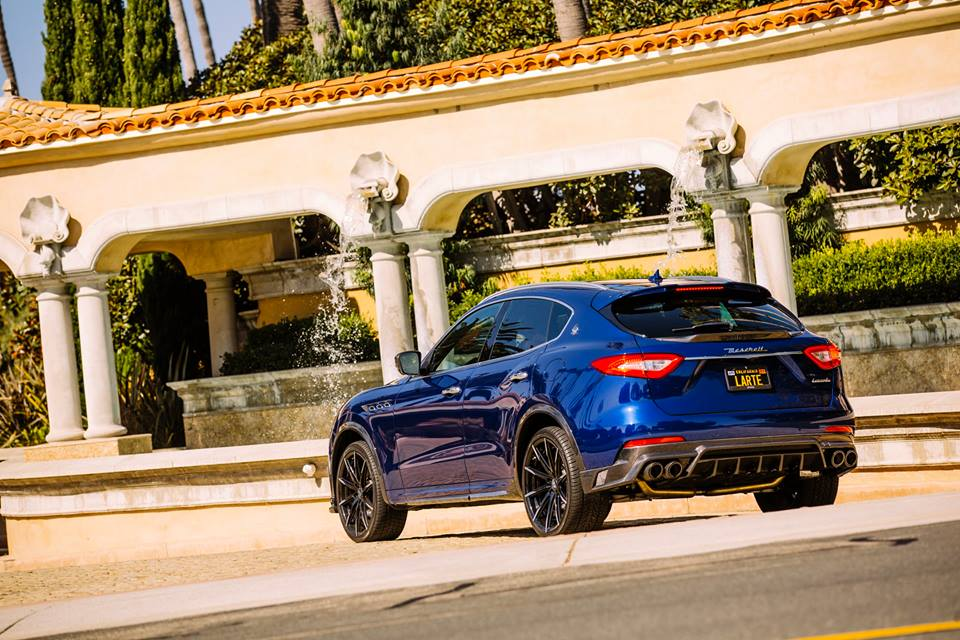 ... Maserati Levante Gets Carbon Trim And New Alloys In Larte Tuning  Project ...