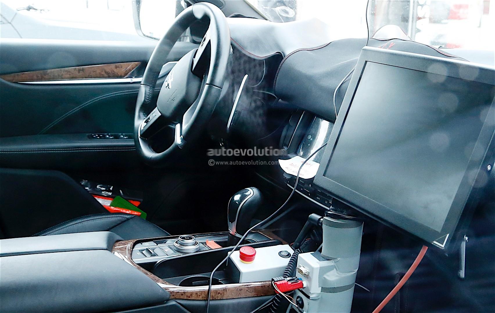 2017 Maserati Levante Spy Shots Reveal Interior Of The