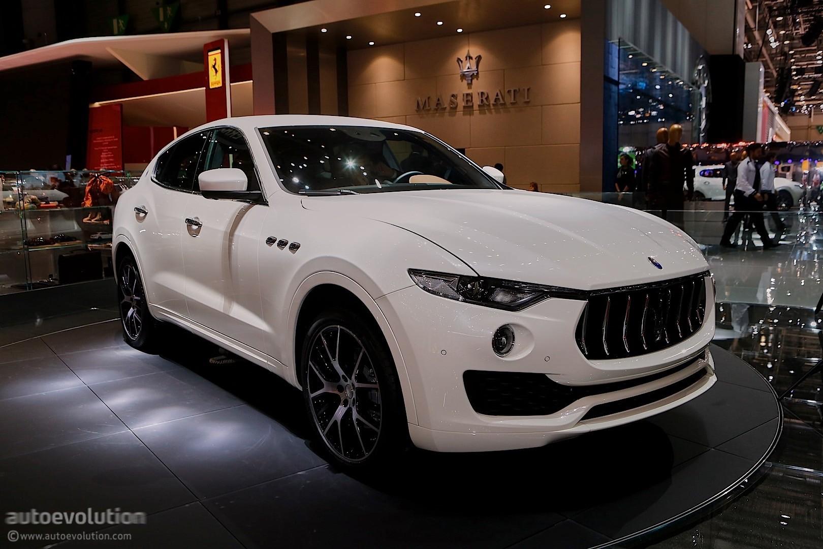 Infiniti Suv 2017 >> Maserati Levante SUV Looks like a Ghibli on Stilts in Geneva - autoevolution