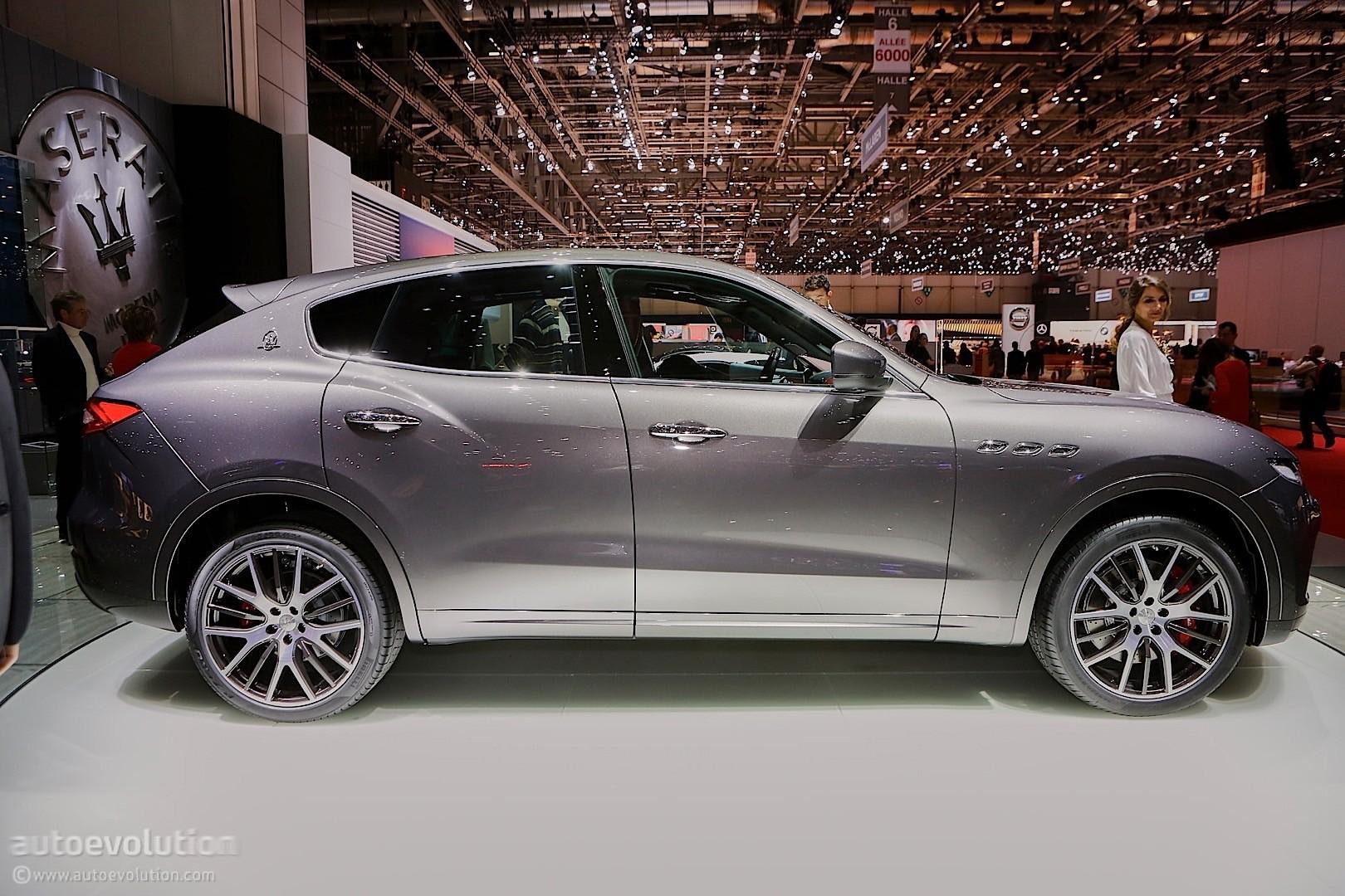 Maserati Levante Suv Looks Like A Ghibli On Stilts In