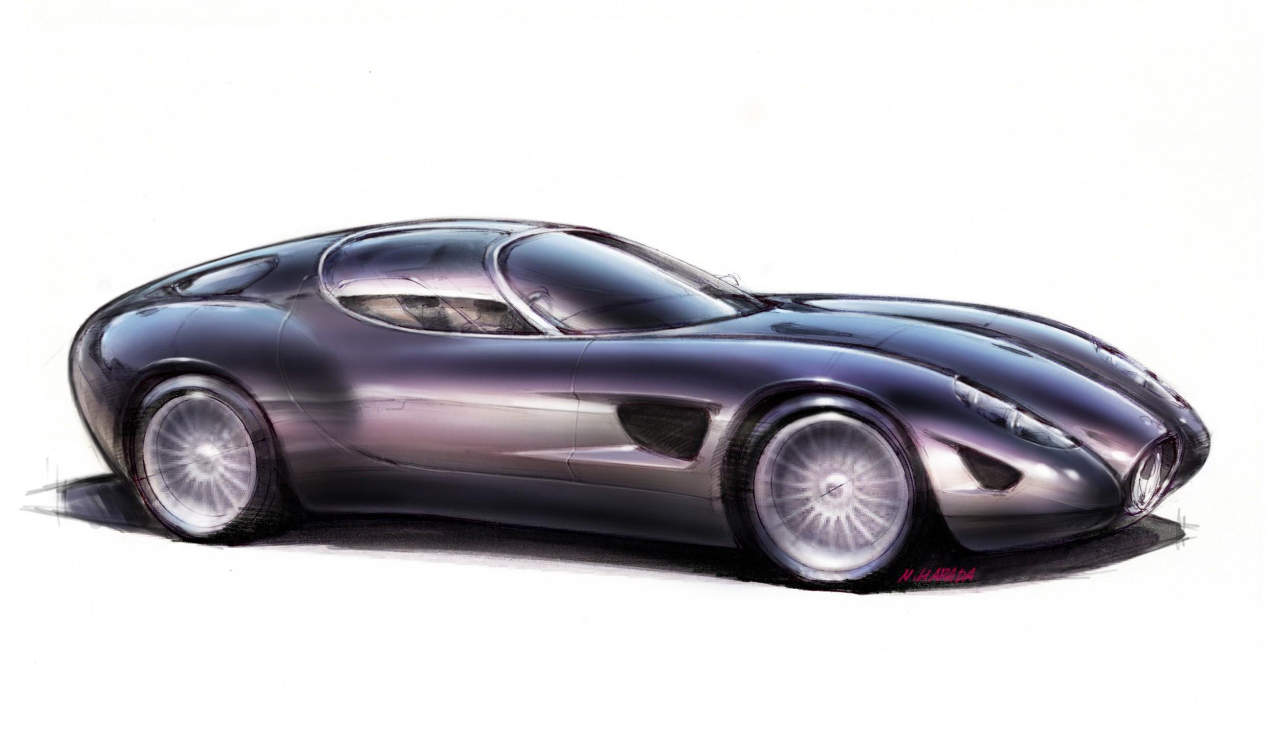 Zagato Maserati Mostro Revs Its V8 During 2015 Concorso D Eleganza Autoevolution