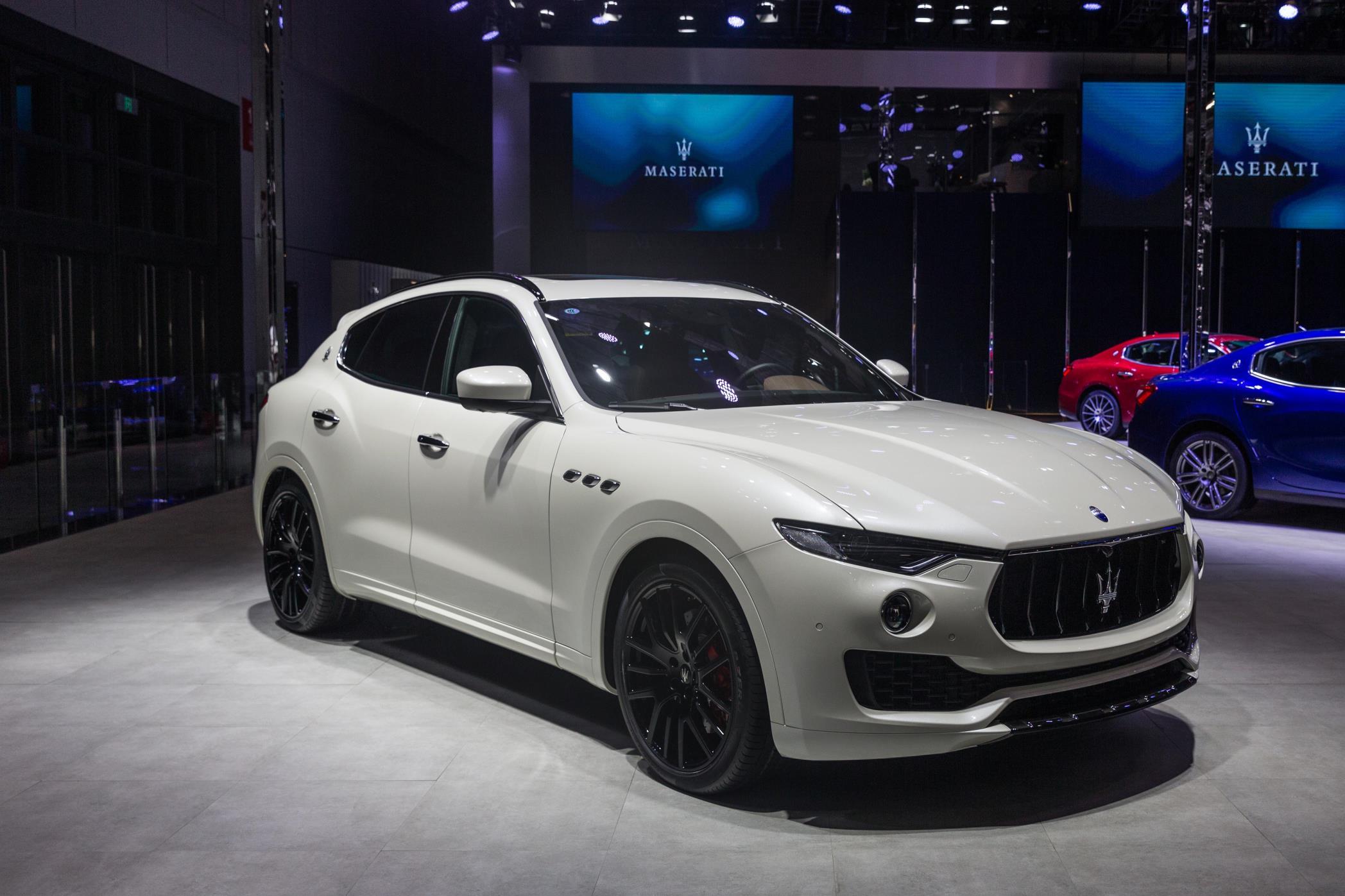 Maserati No A Quattroporte Gransport Sedan Presented To Chinese Custo