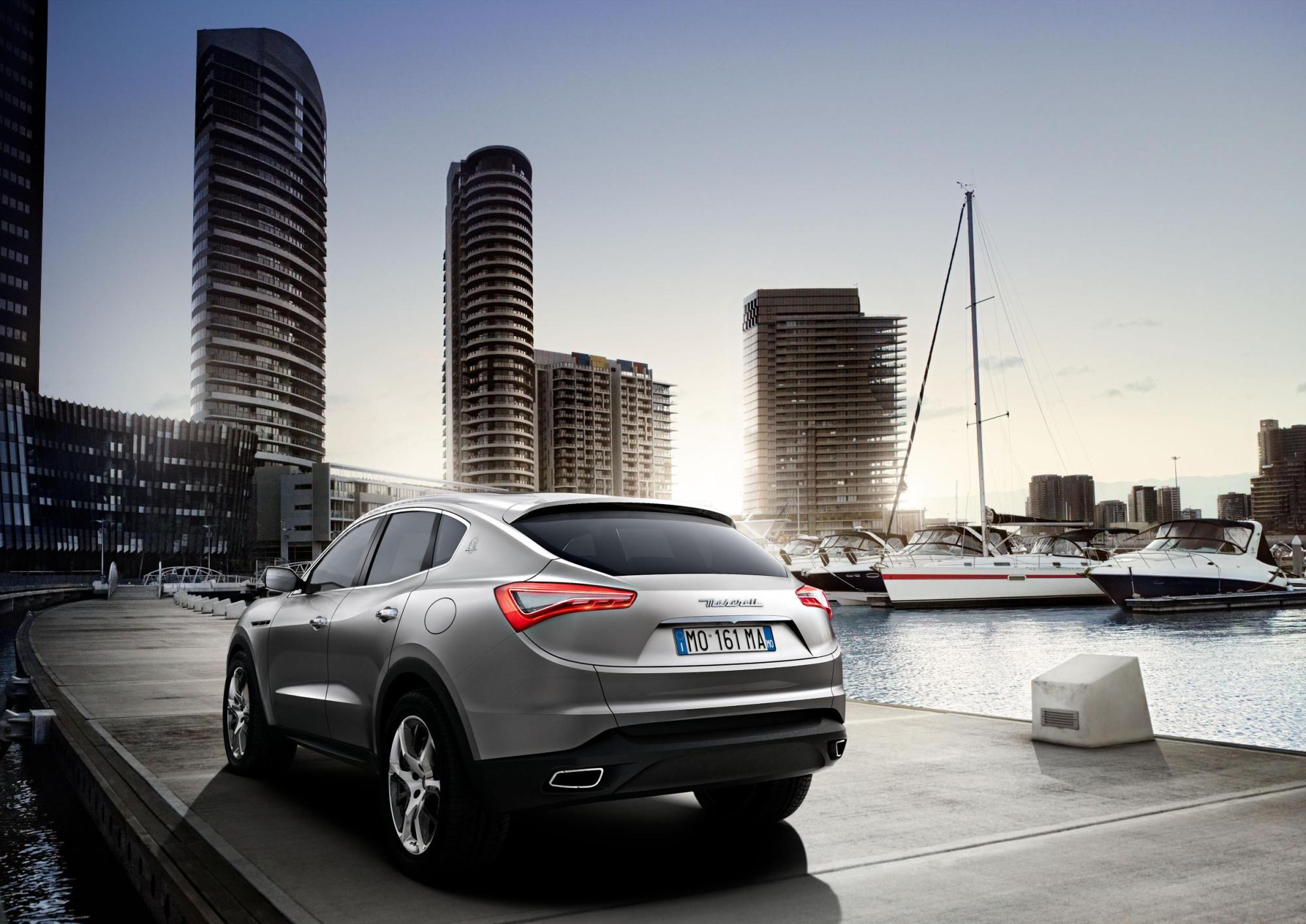 Maserati Unveils 2011 Kubang Luxury Performance Suv