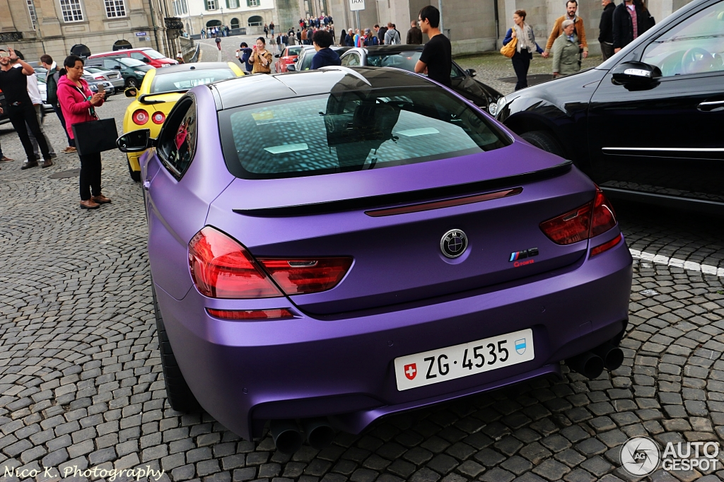 Matt Purple Bmw M6 Tuned By G Power Hides Some Serious Power Autoevolution
