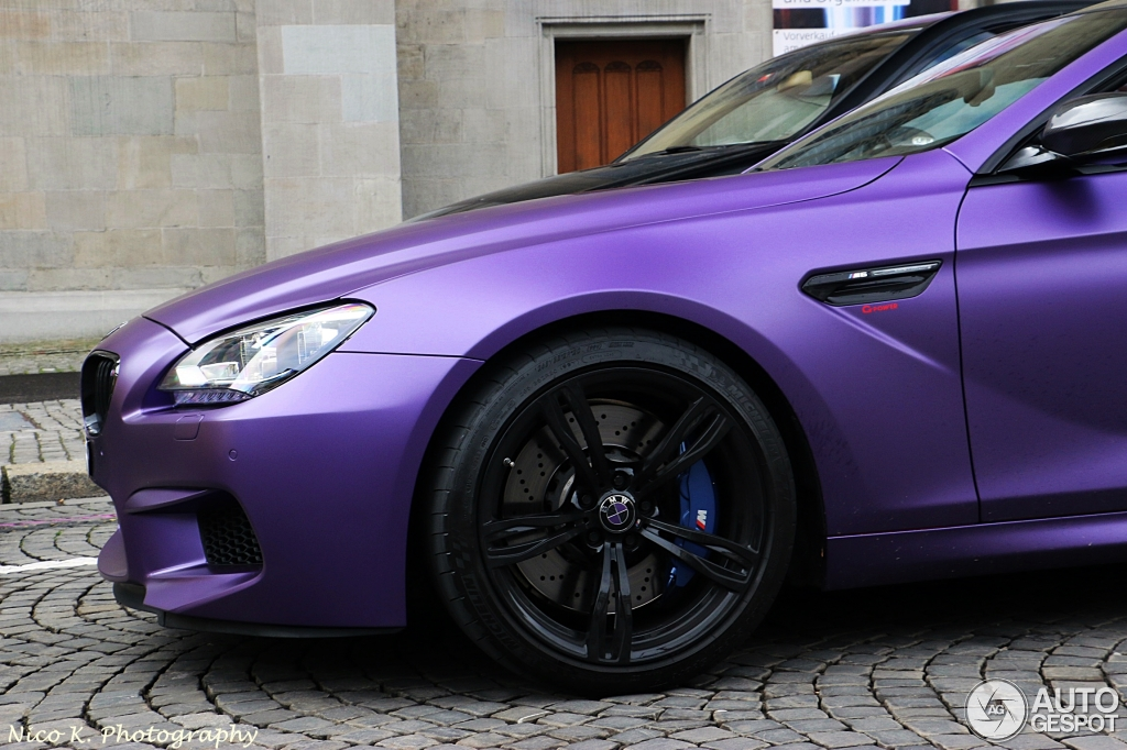 Matt Purple Bmw M6 Tuned By G Power Hides Some Serious