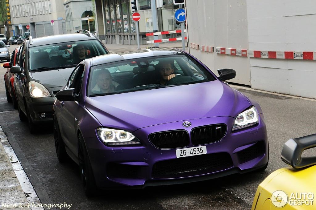 Matt Purple Bmw M6 Tuned By G Power Hides Some Serious