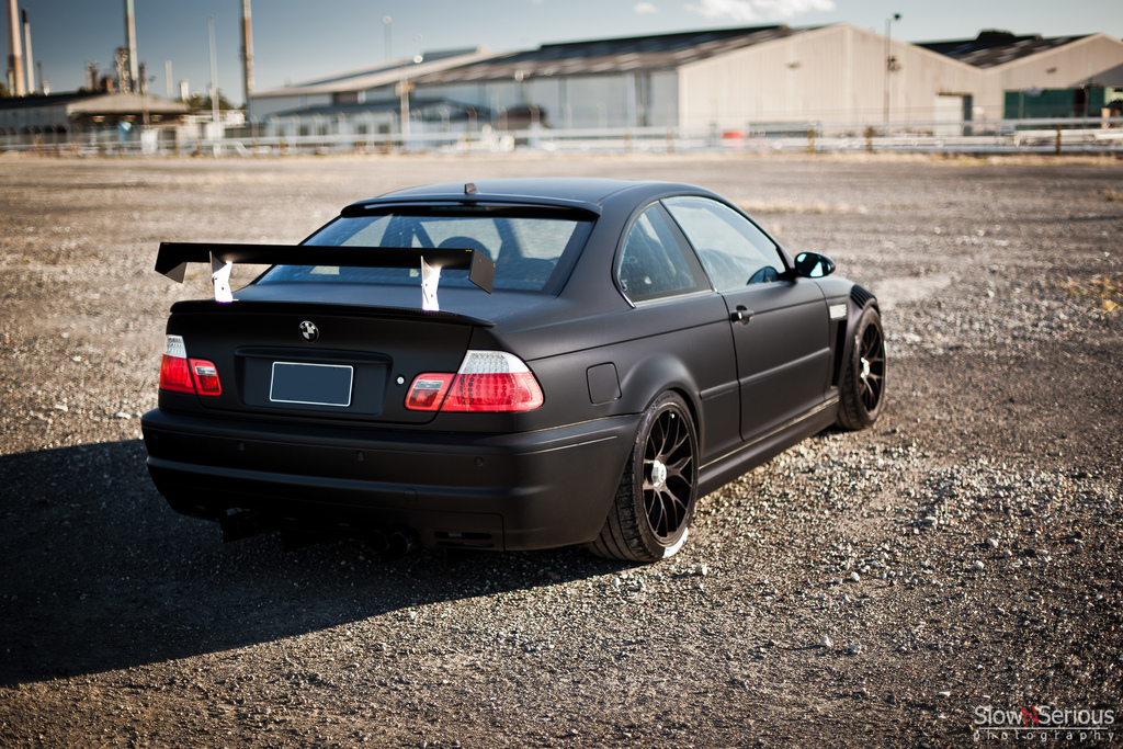 BMW 320I Xdrive >> Matte Black E46 M3 Means Business - autoevolution
