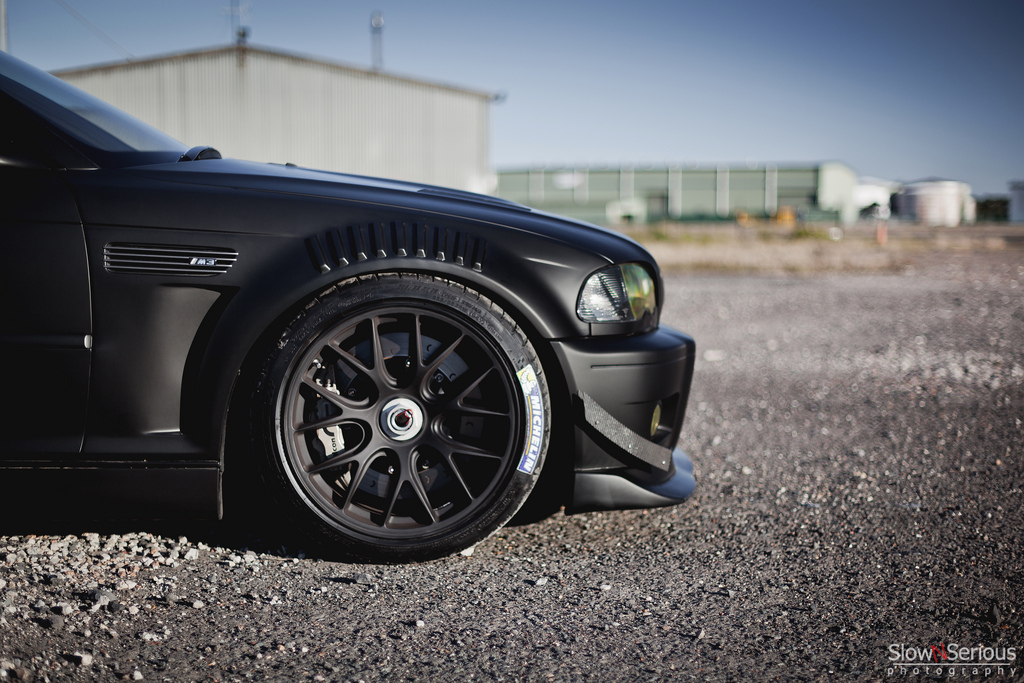 Matte Black E46 M3 Means Business Autoevolution