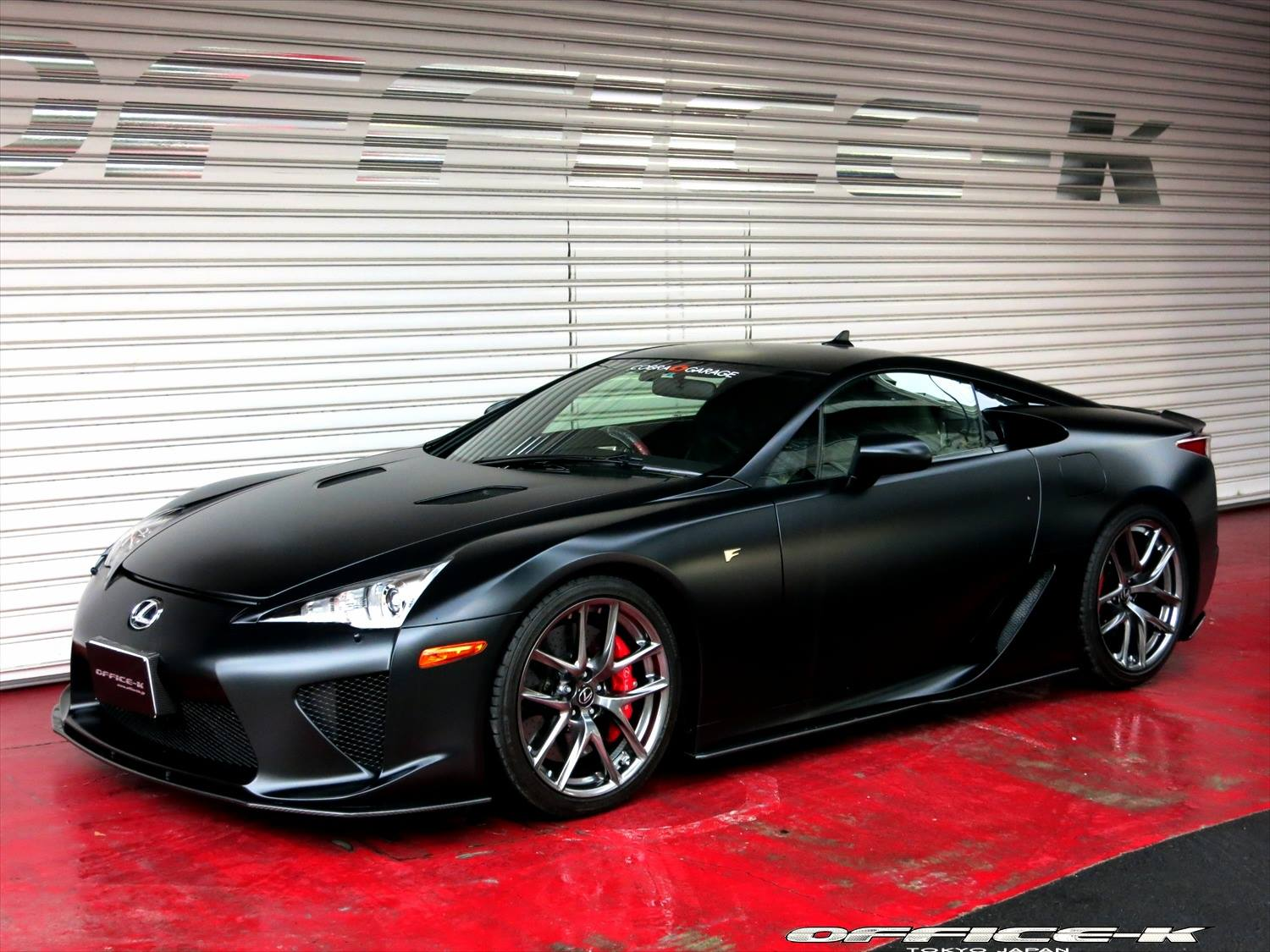 Lexus Ct200H F Sport >> Matte Black Lexus LFA by Office-K [Video] - autoevolution