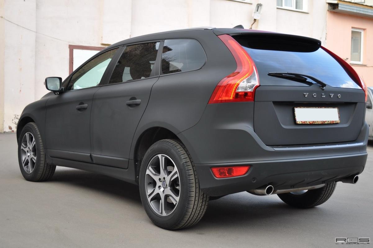 Matte Black Volvo Xc60 In Russia Autoevolution