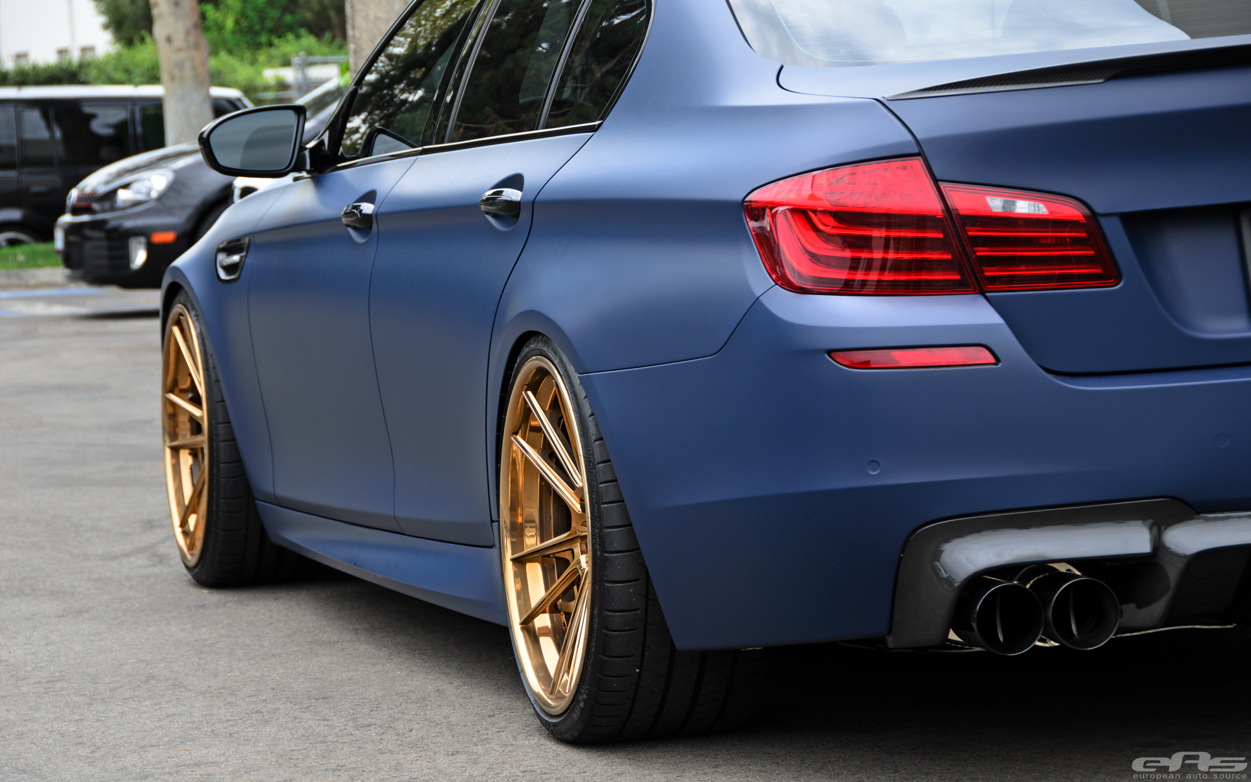Matte Blue M5 Might Be a Little Too Much for Some ...
