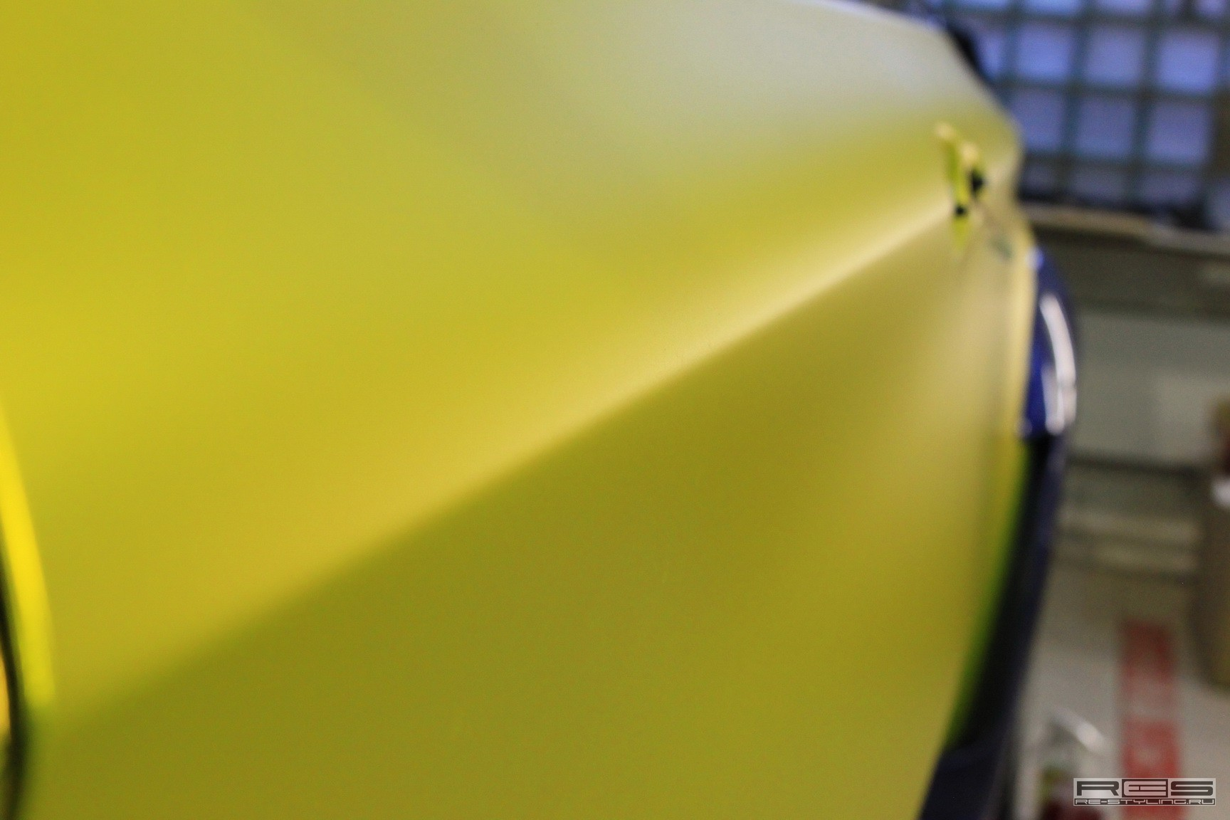 Matte Chrome Yellow Bmw X6m From Re Styling Autoevolution