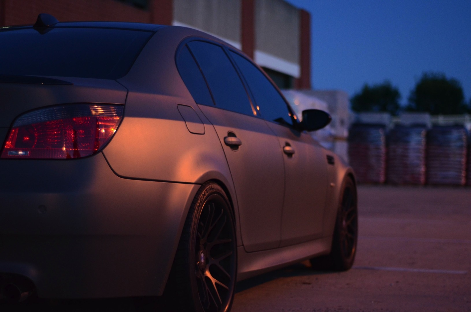 Matte Military Green Bmw E60 M5 For Sale Autoevolution