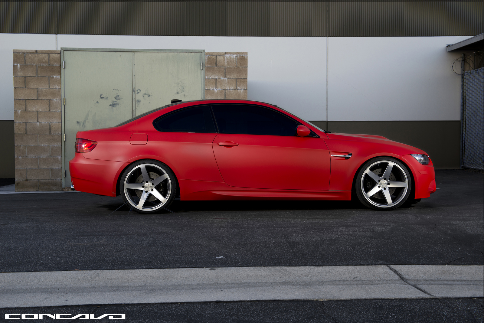matte red bmw e92 m3 looks brilliant. Black Bedroom Furniture Sets. Home Design Ideas