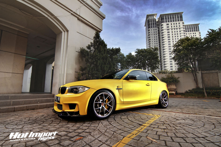 Matte Yellow Bmw 1m Coupe Makes Valencia Orange Look Old