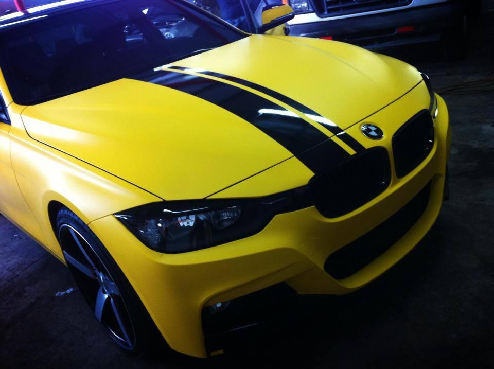 Matte Yellow Bmw 3 Series On Vossen Wheels Autoevolution