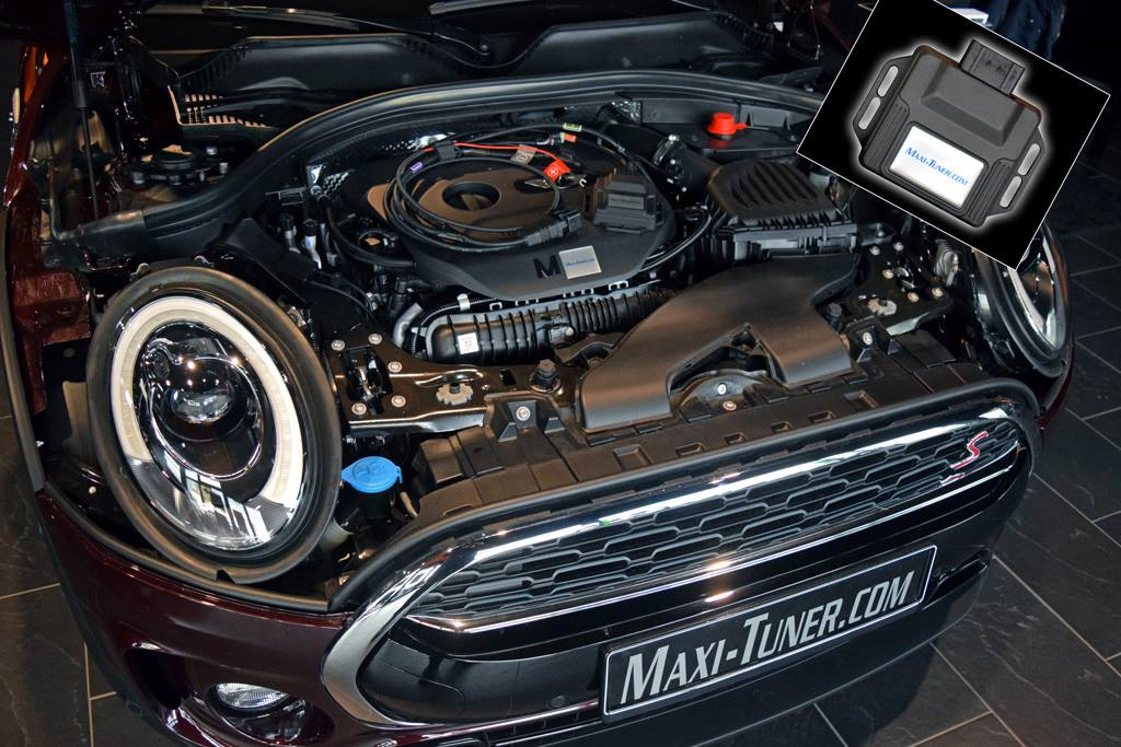 maxi tuner reveals mini cooper s clubman with 225 hp for. Black Bedroom Furniture Sets. Home Design Ideas