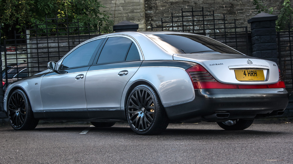 Maybach 57 S By A Kahn Design Is Fit For A King