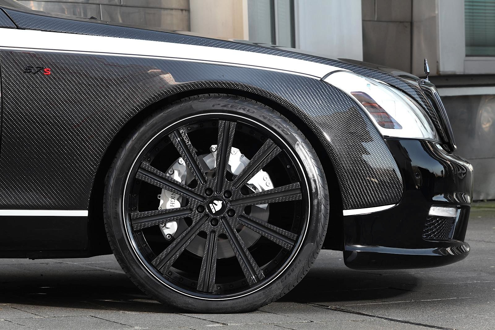 Maybach S By Knight Luxury Is A Carbon Fiber Wet Dream Photo Gallery on Nissan Maxima Carbon Fiber